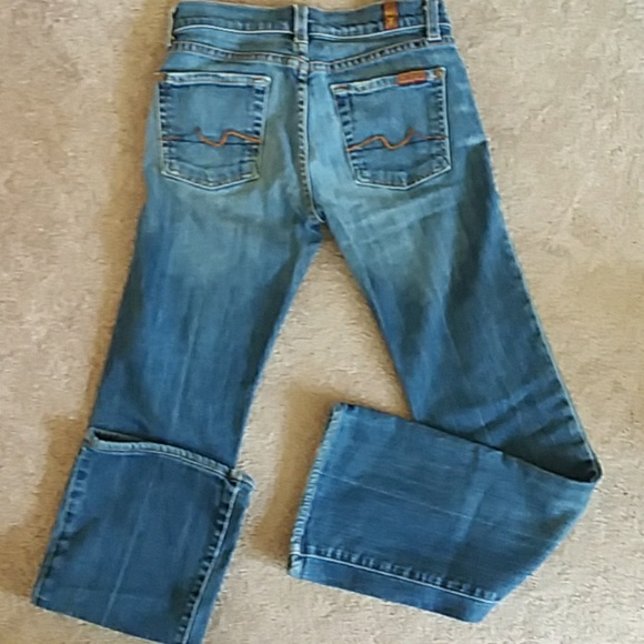 7 For All Mankind Denim - 7 FOR ALL MANKIND Vintage flare low rise